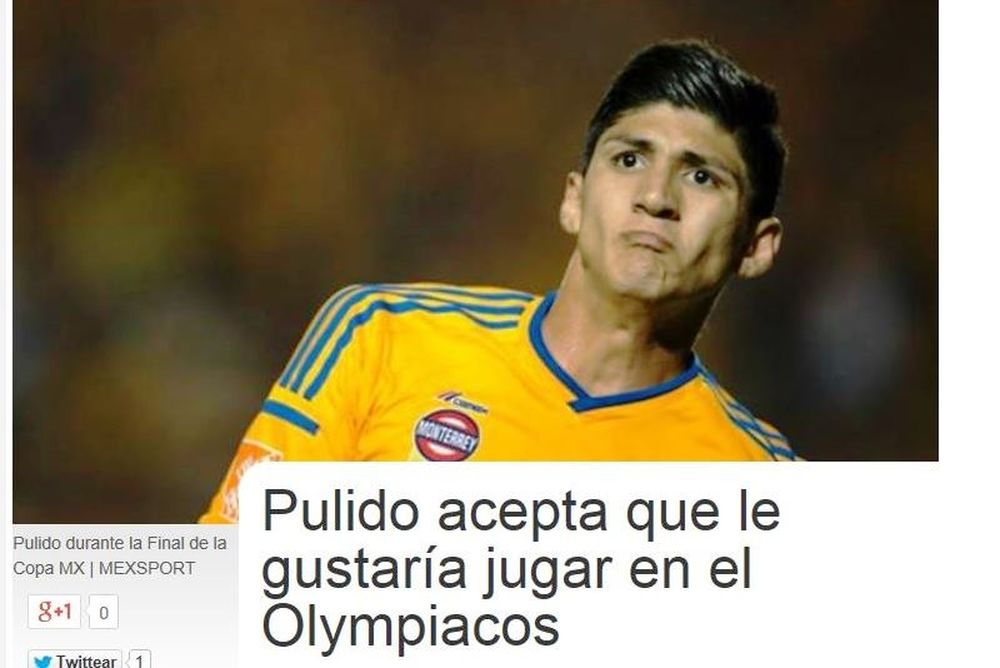 Πουλίδο: «Θα ήθελα να παίξω στον Ολυμπιακό»