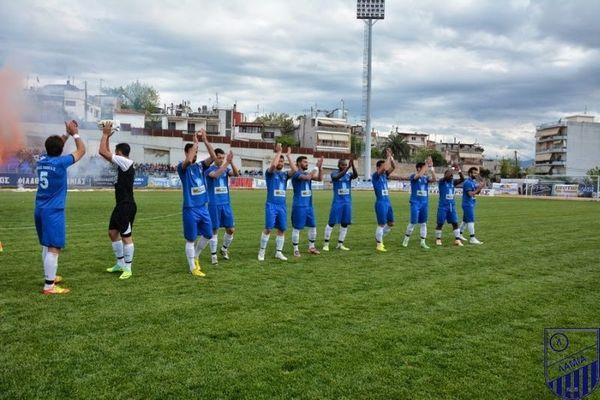 Τρίκαλα-Λαμία 0-1