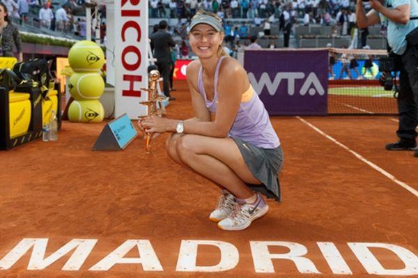 Μαρία Σαράποβα: «Βασίλισσα» στη Μαδρίτη (photos+videos)