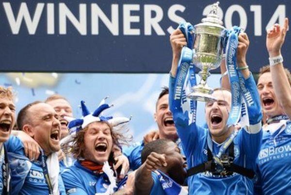 Σκοτία: Κυπελλούχος για πρώτη φορά η Σεντ Τζόνστον