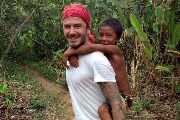 Μουντιάλ Βραζιλίας: Στο… άγνωστο ο Μπέκαμ (photos)