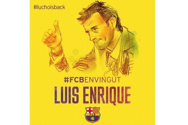Μπαρτσελόνα: Η υπογραφή του Λουίς Ενρίκε και το καλωσόρισμα (videos)
