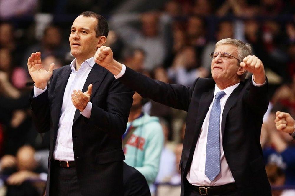 Ολυμπιακός: Ο Γιώργος Αγγελόπουλος στο ΟΑΚΑ