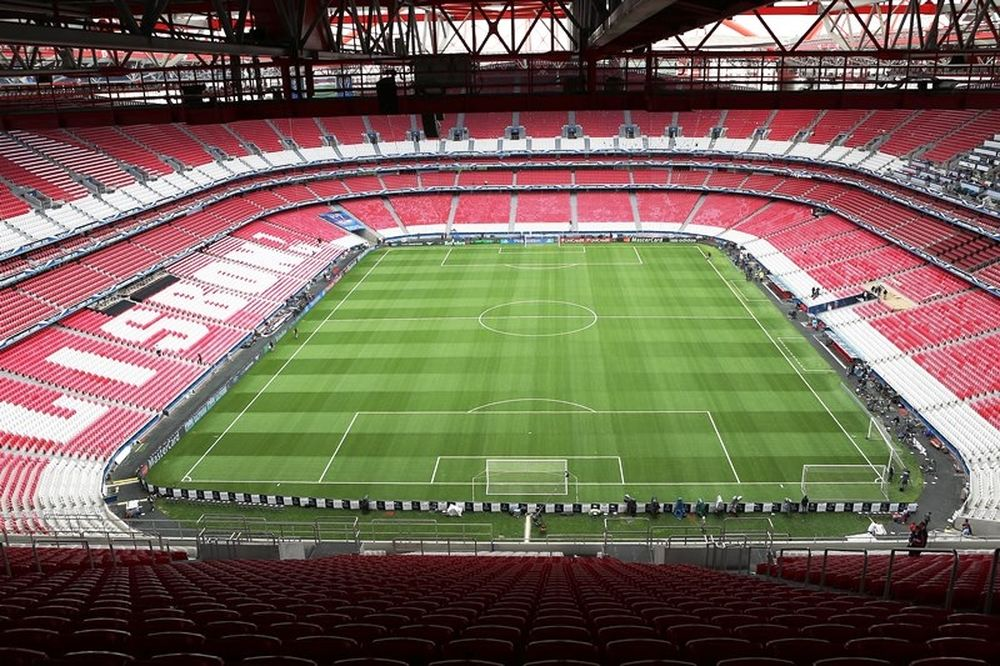 Champions League: Έτοιμο το γήπεδο (photos)