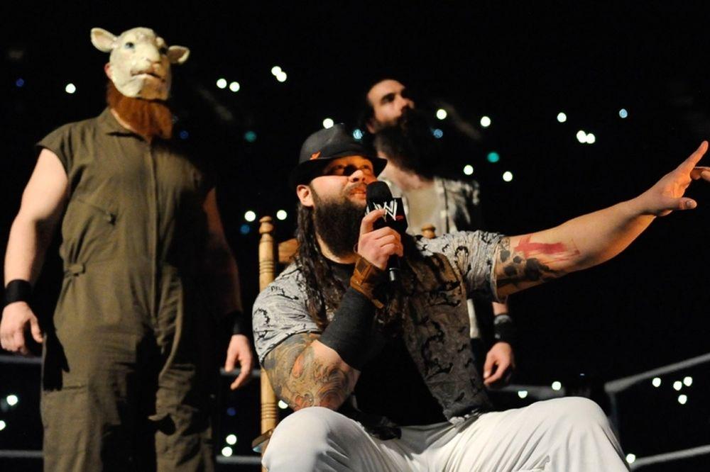 SmackDown: Μαθήματα από Wyatts (photos+videos)