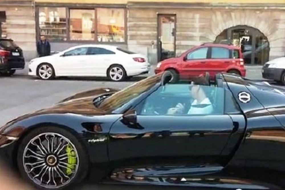 Το νέο αυτοκίνητο του Ζλάταν (video)