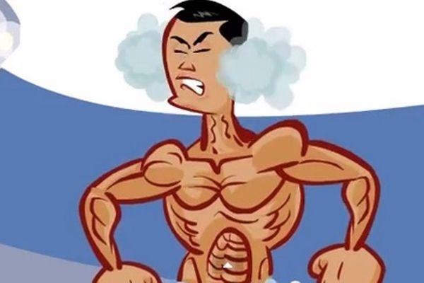 Κριστιάνο Ρονάλντο: Ο γυμνός πανηγυρισμός σε καρτούν (video)