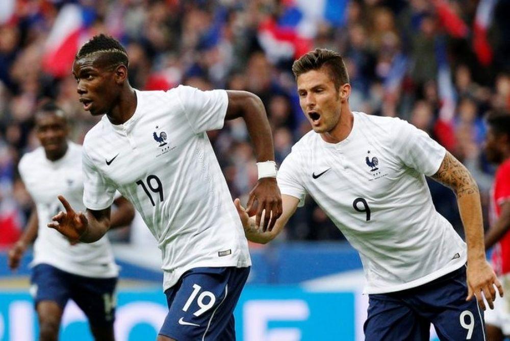 Πάρτι για Γαλλία, 4-0 τη Νορβηγία (photos)