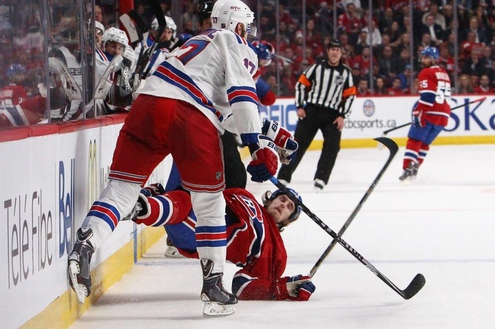 NHL: Δύο αγωνιστικές στον «εγκληματία» Moore