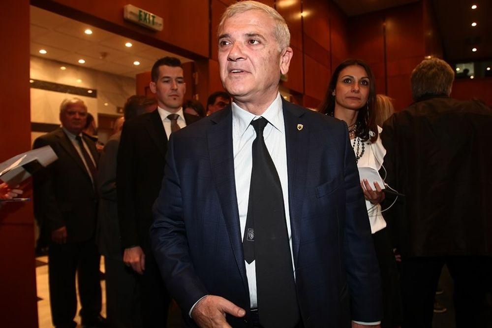 AEK: Στη Βουλή ο Μελισσανίδης