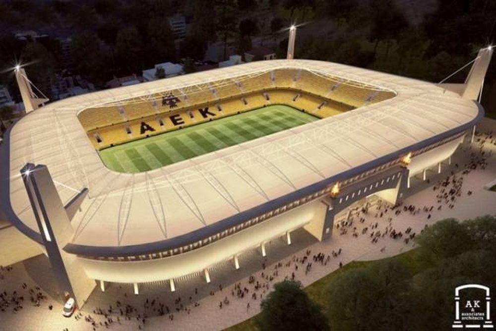 Στρατούλης: «Στολίδι το γήπεδο της ΑΕΚ»