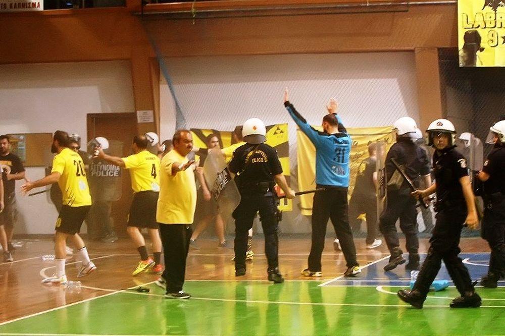 ΑΕΚ – Διομήδης: Το φύλλο αγώνα (photo)