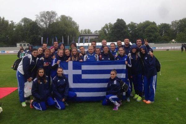 Ευρωπαϊκό Πρωτάθλημα Ταλίν: Πέμπτη η Εθνική Στίβου