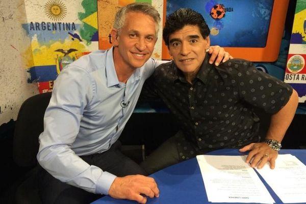 Παγκόσμιο Κύπελλο Ποδοσφαίρου 2014: Μαραντόνα και Λίνεκερ μετά από 28 χρόνια!