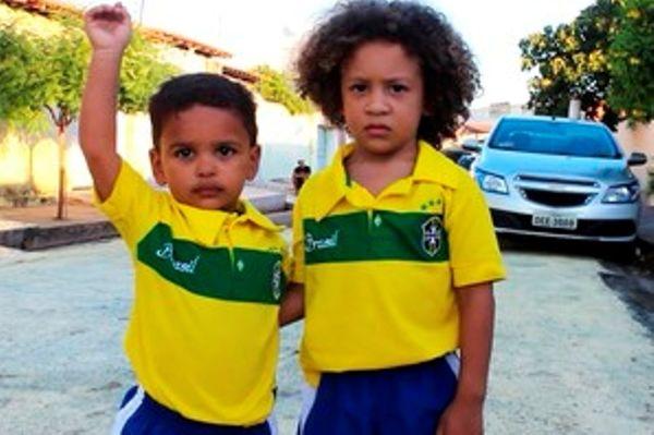 Παγκόσμιο Κύπελλο Ποδοσφαίρου 2014: Οι μικροί σωσίες των Βραζιλιάνων (photos+video)
