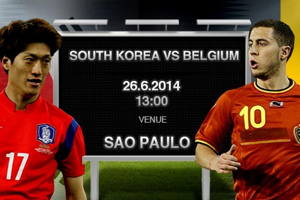 Παγκόσμιο Κύπελλο 2014: Νότια Κορέα – Βέλγιο ( 23.00 ΝΕΡΙΤ+videos)