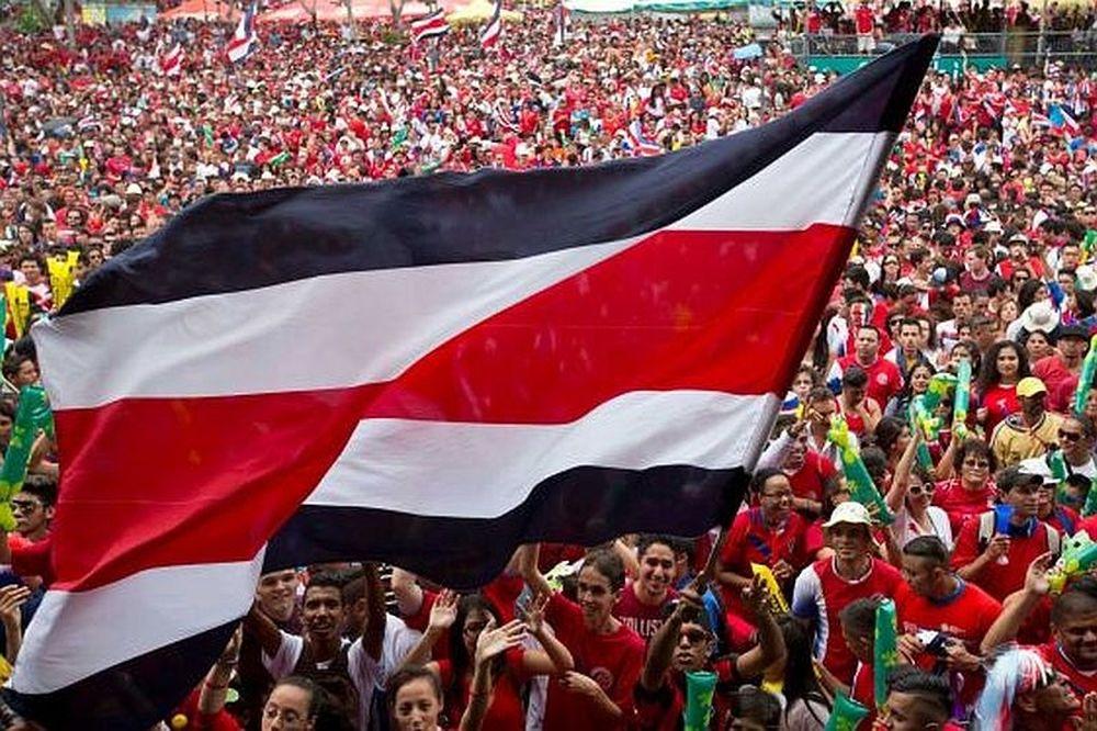 Κόστα Ρίκα – Ελλάδα: Πανηγυρίζουν έξαλλα οι «Τίκος»! (video+photos)