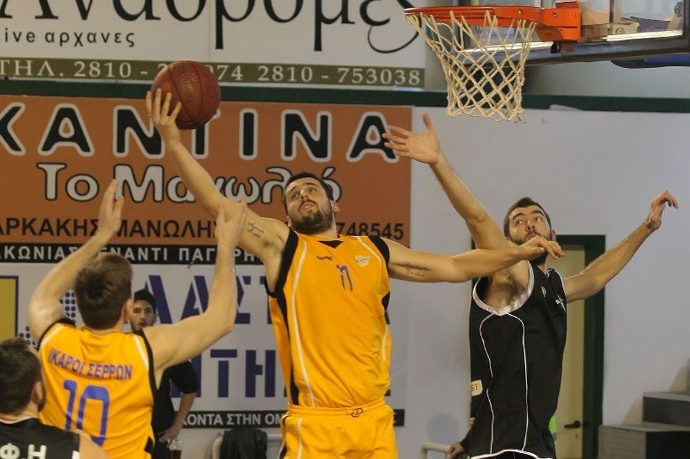 Β' Εθνική Μπάσκετ: ΔΑΚ Κομοτηνής αντί Ικάρων Σερρών