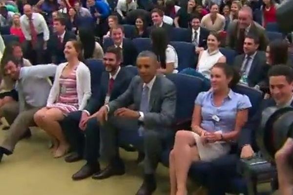 Παγκόσμιο Κύπελλο Ποδοσφαίρου - Προημιτελικά: Συνθήματα ο Ομπάμα! (video)