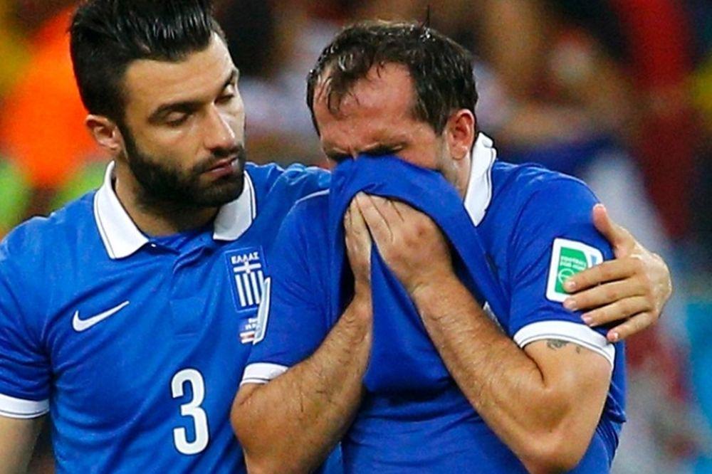 Παγκόσμιο Κύπελλο Ποδοσφαίρου: Η απογοήτευση σε… στοπ καρέ (photos)