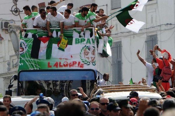 Παγκόσμιο Κύπελλο Ποδοσφαίρου 2014 - Φάση των 16: Αποθέωση για τους Αλγερινούς (photos)