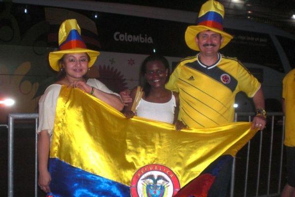 Βραζιλία - Κολομβία: Οικογένειες ακολουθούν τους «καφετέρος» (photos)