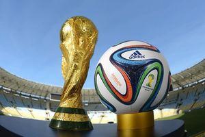 Παγκόσμιο Κύπελλο Ποδοσφαίρου 2014 - Τελικός: Αποκαλυπτήρια τροπαίου από Ζιζέλ και Πουγιόλ (photo)
