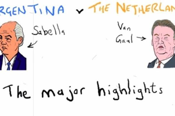 Μουντιάλ 2014: Η παρωδία του Αργεντινή - Ολλανδία (video)