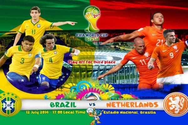 Παγκόσμιο Κύπελλο Ποδοσφαίρου 2014 – Μικρός Τελικός: Βραζιλία – Ολλανδία για την… παρηγοριά (photos+videos)