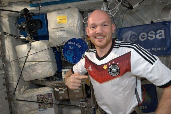 Παγκόσμιο Κύπελλο Ποδοσφαίρου 2014 – Τελικός: Πανηγύρισαν και στο διάστημα! (photos)
