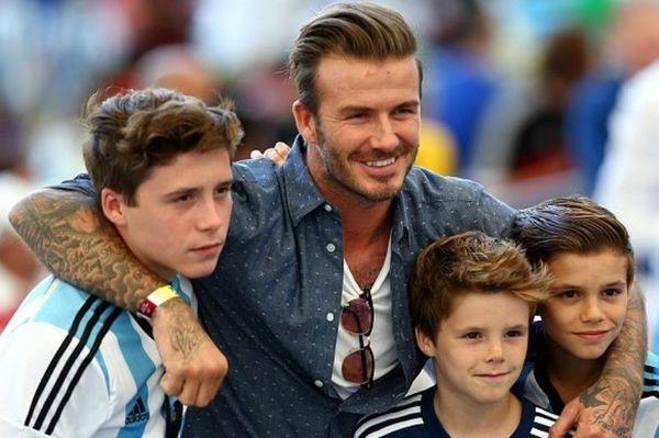 Παγκόσμιο Κύπελλο Ποδοσφαίρου 2014 - Τελικός: Με Αργεντινή οι Μπέκαμ (photos)