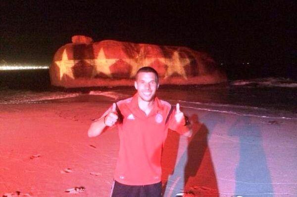 Παγκόσμιο Κύπελλο Ποδοσφαίρου 2014: Βασιλιάς της… selfie ο Ποντόλσκι (photos)