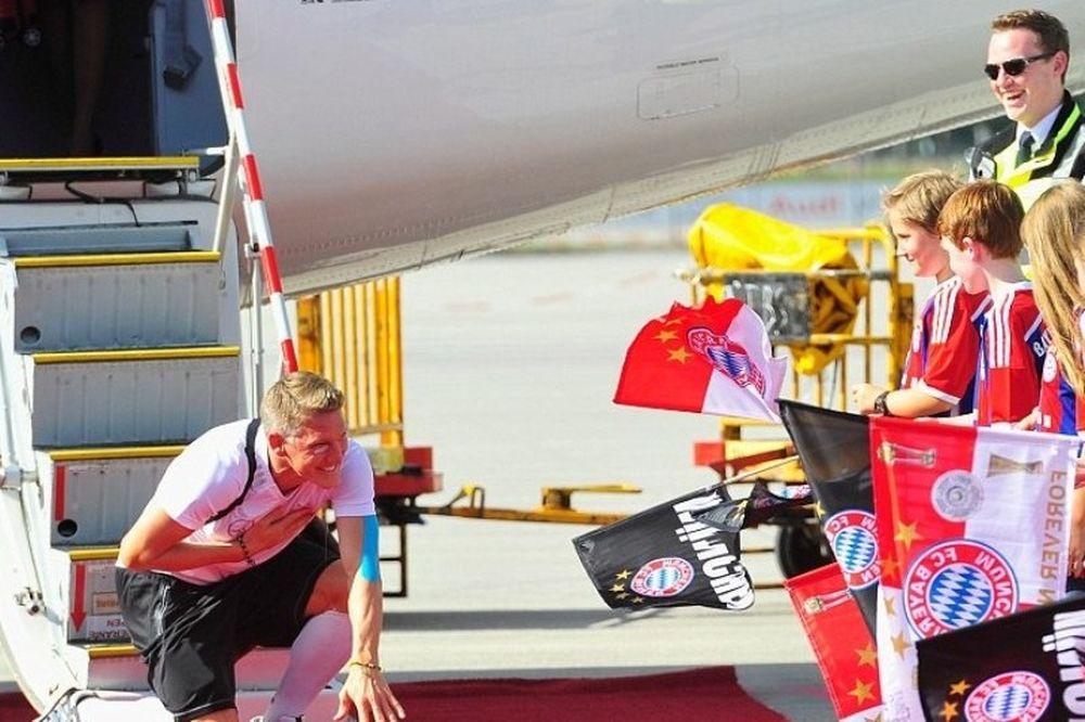 Μουντιάλ 2014 - Γερμανία: Στο Μόναχο οι παίκτες της Μπάγερν (photos)