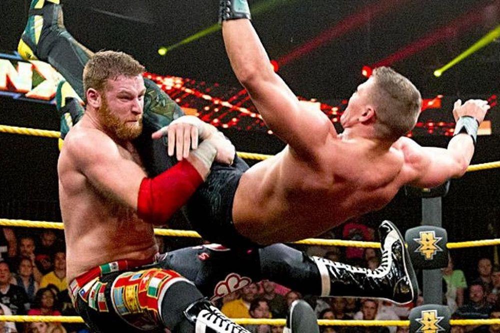 NXT: «Μίλησε» και παγίδευσε ο Sami Zayn (photos+videos)