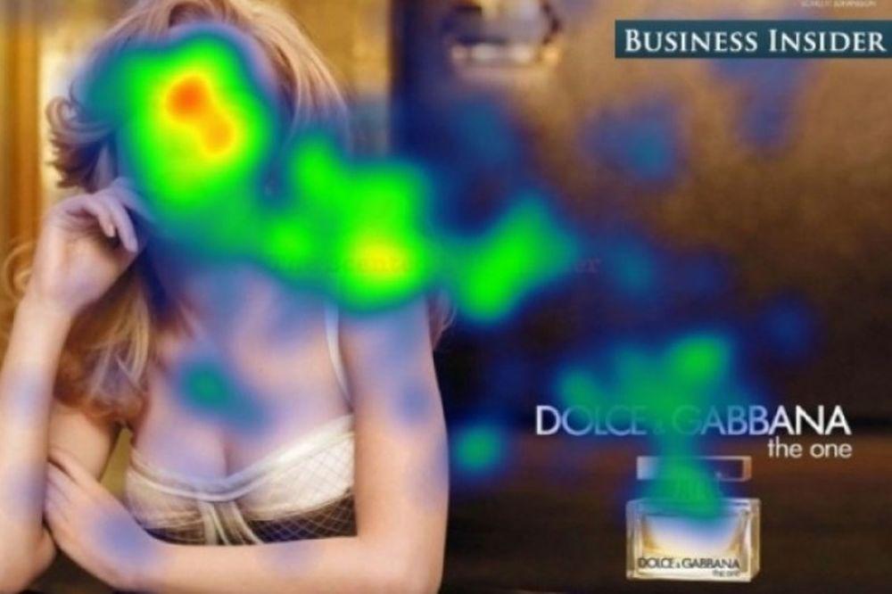 Που εστιάζουν άντρες και γυναίκες όταν κοιτούν μια φωτογραφία (pics)