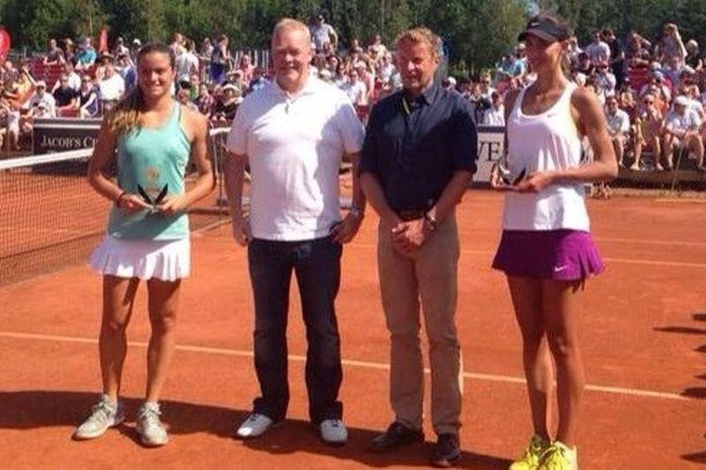 Τένις: Διπλός τίτλος για Σάκκαρη