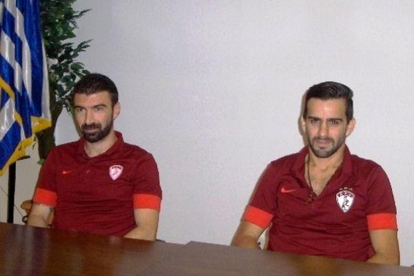 ΑΕΛ: Στόχος η Super League για Μουλόπουλο και Πινδώνη