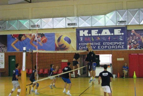Εθνική Βόλεϊ Εφήβων: Αναχώρησε για Σκόπια