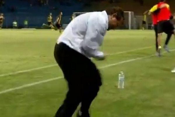 Βουλγαρία: Ο πιο αστείος πανηγυρισμός προπονητή (video)