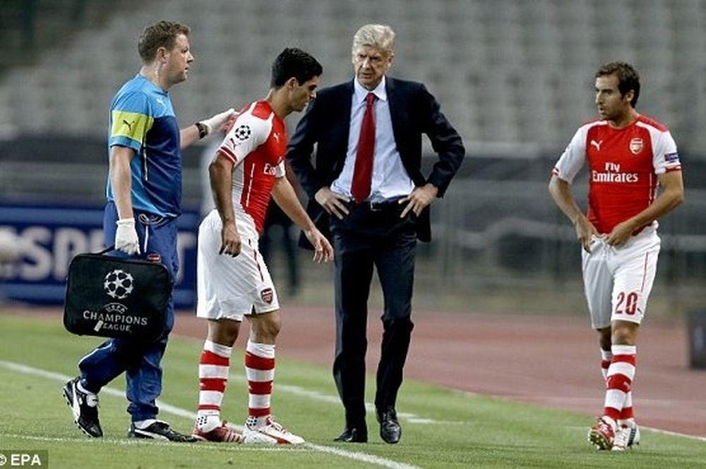 Βενγκέρ: «Μου πέταξαν αντικείμενο στο γήπεδο»