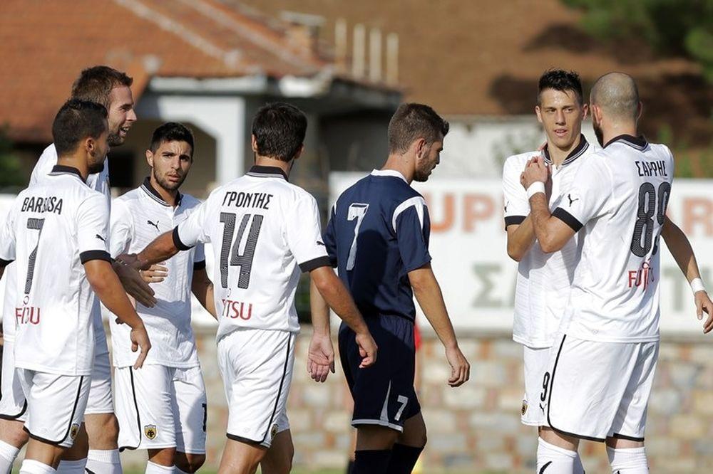 Σε χαλαρούς ρυθμούς η ΑΕΚ, 4-0 τον Ρήγα Φεραίο (photos)