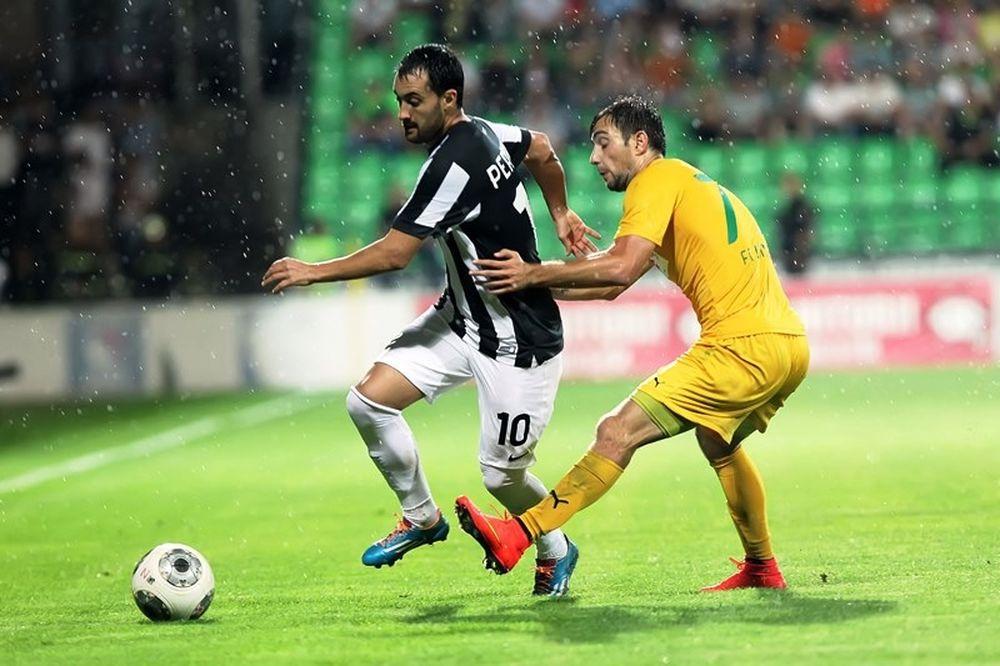 Ζίμπρου Κισινάου – ΠΑΟΚ 1-0: Το γκολ του αγώνα (video)