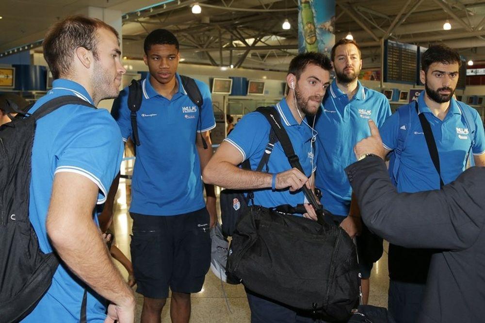 Μουντομπάσκετ 2014: Φεύγει για Ισπανία η Ελλάδα