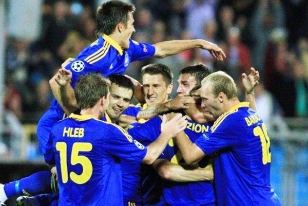 ΜΠΑΤΕ Μπόρισοφ –Σλόβαν Μπρατισλάβας 3-0