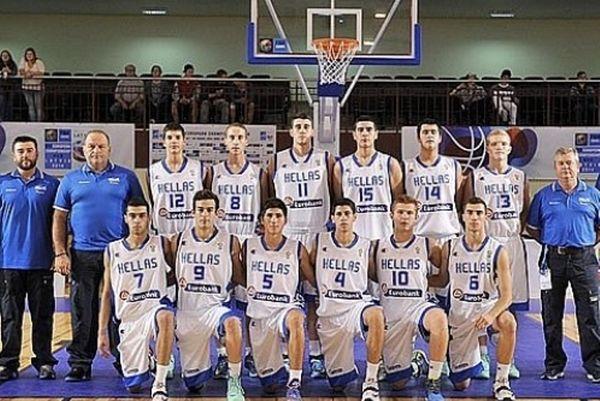 Εθνική Μπάσκετ Παίδων: Ήττα από Φινλανδία