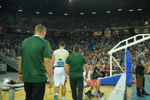 Mundobasket 2014: Σοκ για Λιθουανία με Καλνιέτις (photos+videos)