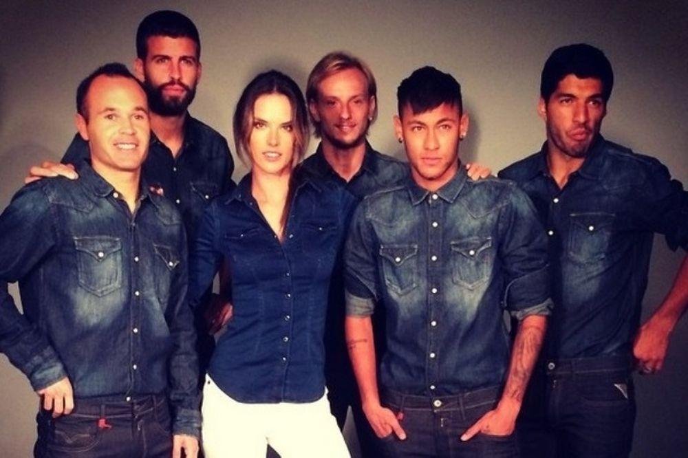 Μπαρτσελόνα: Η... dream team της Αμπρόσιο (photos)