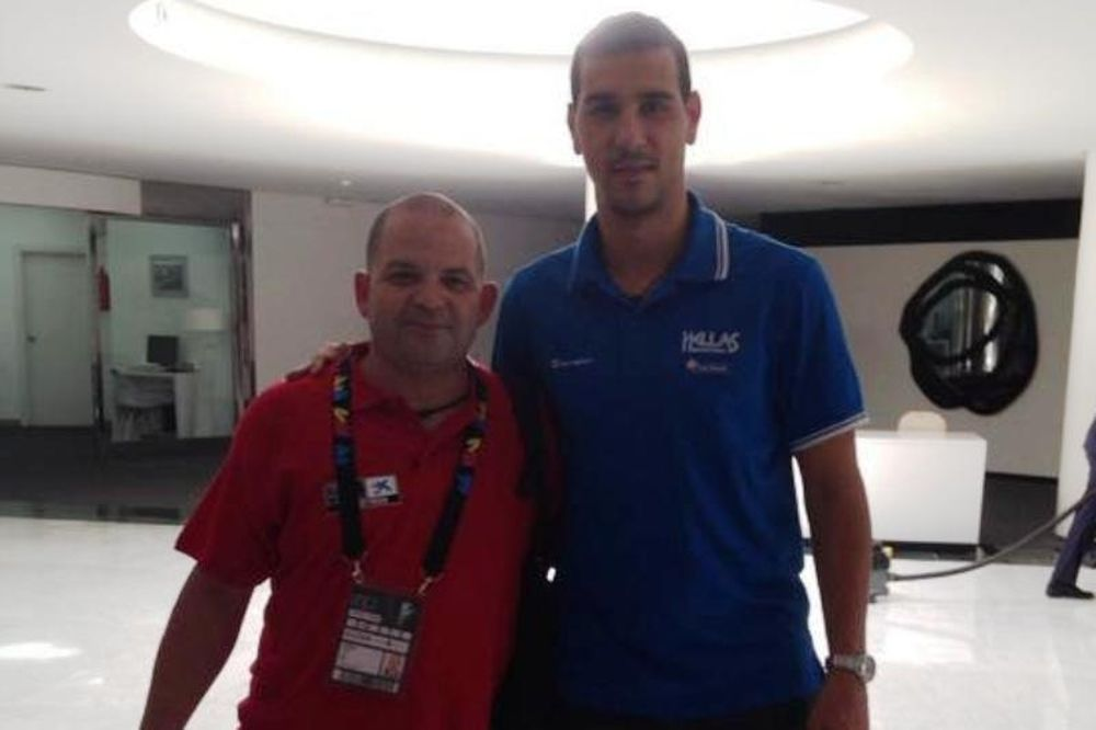 Μουντομπάσκετ 2014: Ο φιλέλληνας Μιγκέλ (photo)