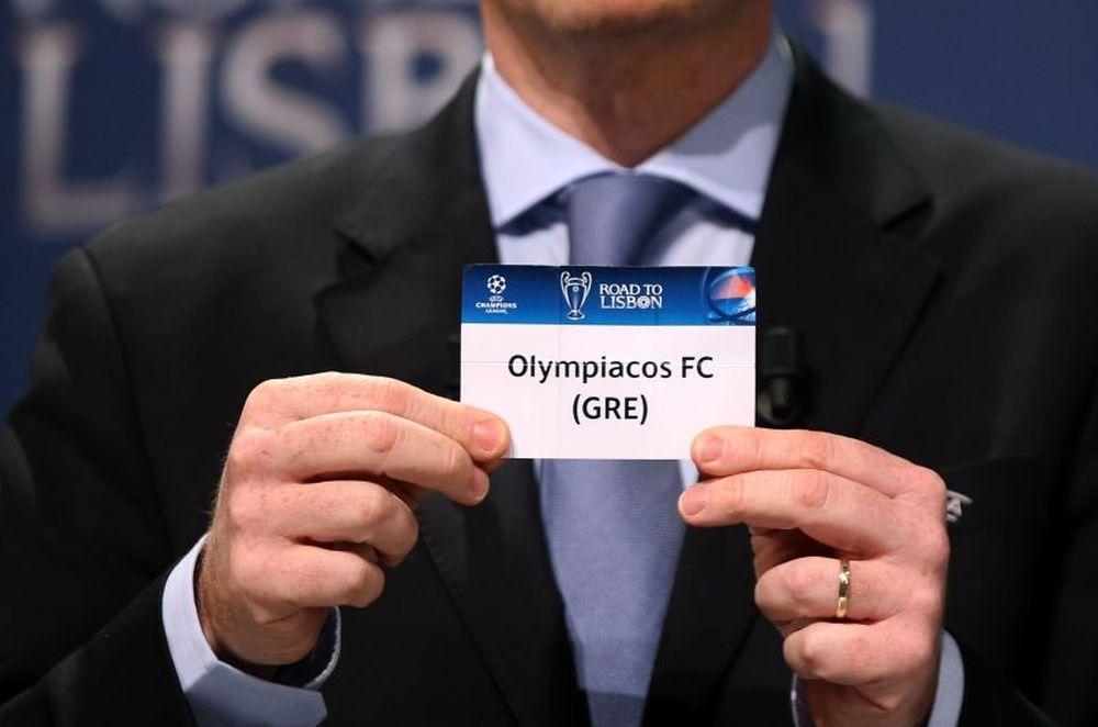 Ολυμπιακός: Το πρόγραμμα στο Champions League