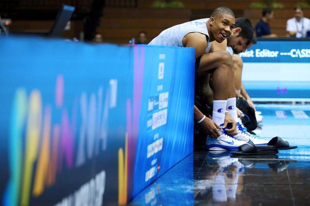 Μουντομπάσκετ 2014: Η ελληνική προπόνηση (photos)